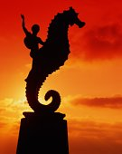 Sea Horse Statue at The Malecon